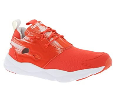 Reebok Damen Furylite Contemporary Laufschuhe, Rot/Weiß (Laser Red/Weiß), 40 EU