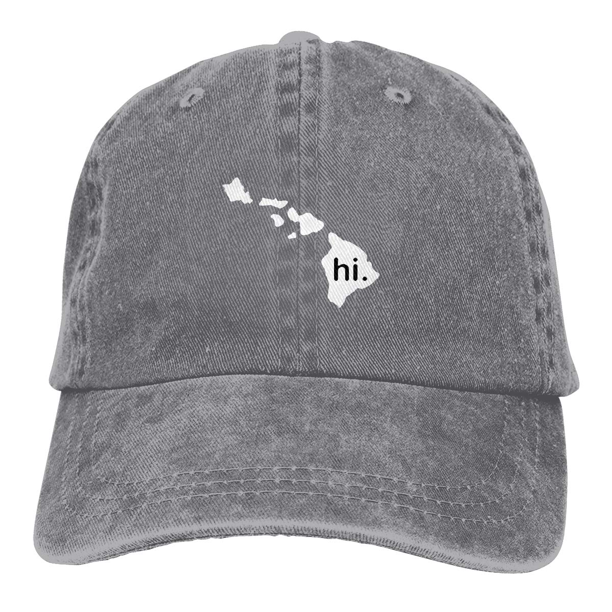 45511937 Amazon.com: Hi With Hawaii Island Vintage Adjustable Cowboy Cap Baseball Cap  ForMan And Woman: Clothing