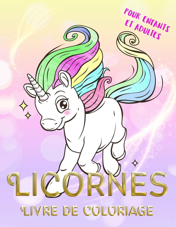 Licornes Livre De Coloriage Pour Enfants Et Adultes Coloriage