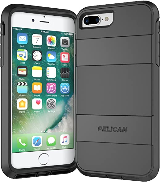 lowest price 4c3e5 be84a Pelican Voyager iPhone 7 Plus Case (Black)