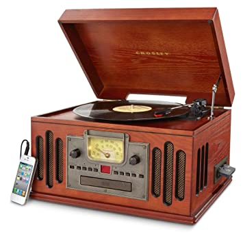 Image Unavailable Amazon.com: Crosley CR704C-PA Musician Turntable with Radio, CD