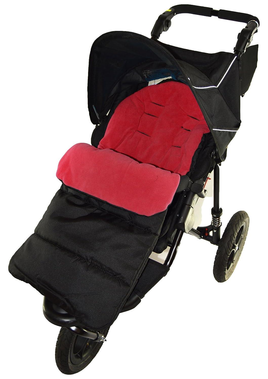 Saco/Cosy Toes Compatible con montaña buugy Mini carrito de bebé, color rojo: Amazon.es: Bebé