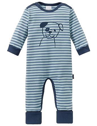 Schiesser Baby-Jungen Anzug Ohne Fu/ß Zweiteiliger Schlafanzug