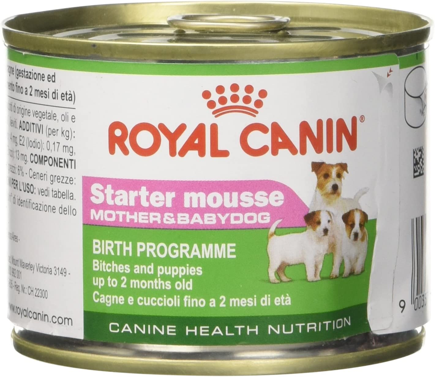 Royal Canin C-08313 Starter Mousse, 195 gr, paquete de 12
