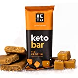 Perfect Keto Bars - The Cleanest Keto Snacks with Collagen and MCT. No Added Sugar, Keto Diet Friendly - 3g Net Carbs, 19g Fa