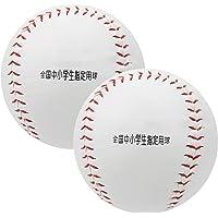 Training Softbal Hand Naaien PU Praktijk Honkbal Lichtgewicht PU Softbal Bal Duurzame 2 stks Softbal Bal voor Grip