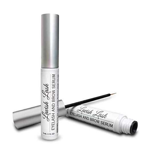 Pronexa Hairgenics Lavish Lash – Eyelash Growth Enhancer & Brow Serum with Biotin & Natural Growth Peptides for Long, Thick Lashes and Eyebrows! FDA Approved, Dermatologist Certified & Hypoallergenic. best brow product