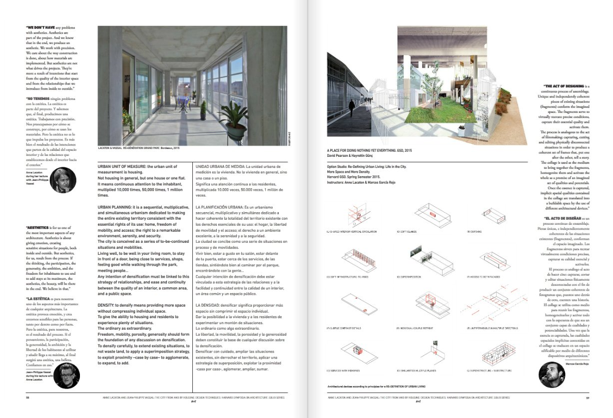 A+T 45 Solid - Harvard Symposia On Architecture: Design ...