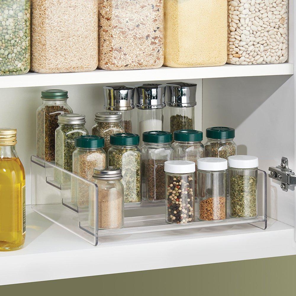 InterDesign Linus Spice Rack Organizer for Kitchen Pantry ...