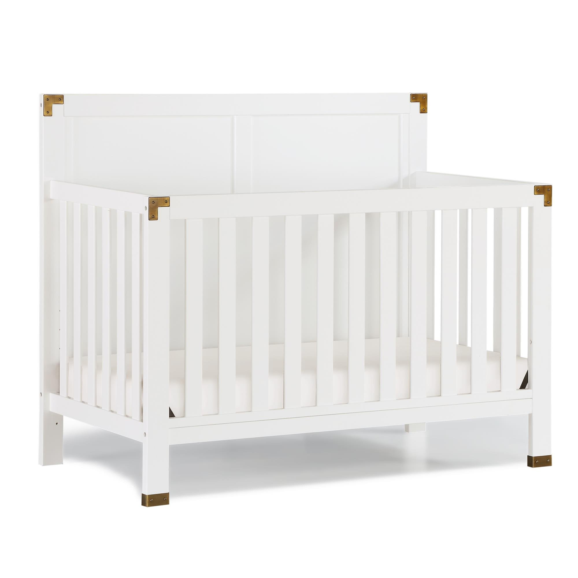Full Size Conversion Kit Bed Rails for Baby Relax Edgemont, Miles & Rivers Cribs by Dorel Living - White by CC KITS (Image #5)