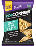 POPCORNERS Salt of the Earth, Popcorn Chips, Single Serve (1oz/40 Pack)