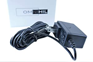 [UL Listed] Omnihil 8 Feet AC Power Cord Compatible with Zynex AC/DC Power Adapter Model: DP41-1200500