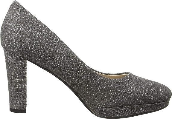 TALLA 39.5 EU. Clarks Kendra Sienna, Zapatos de Tacón para Mujer