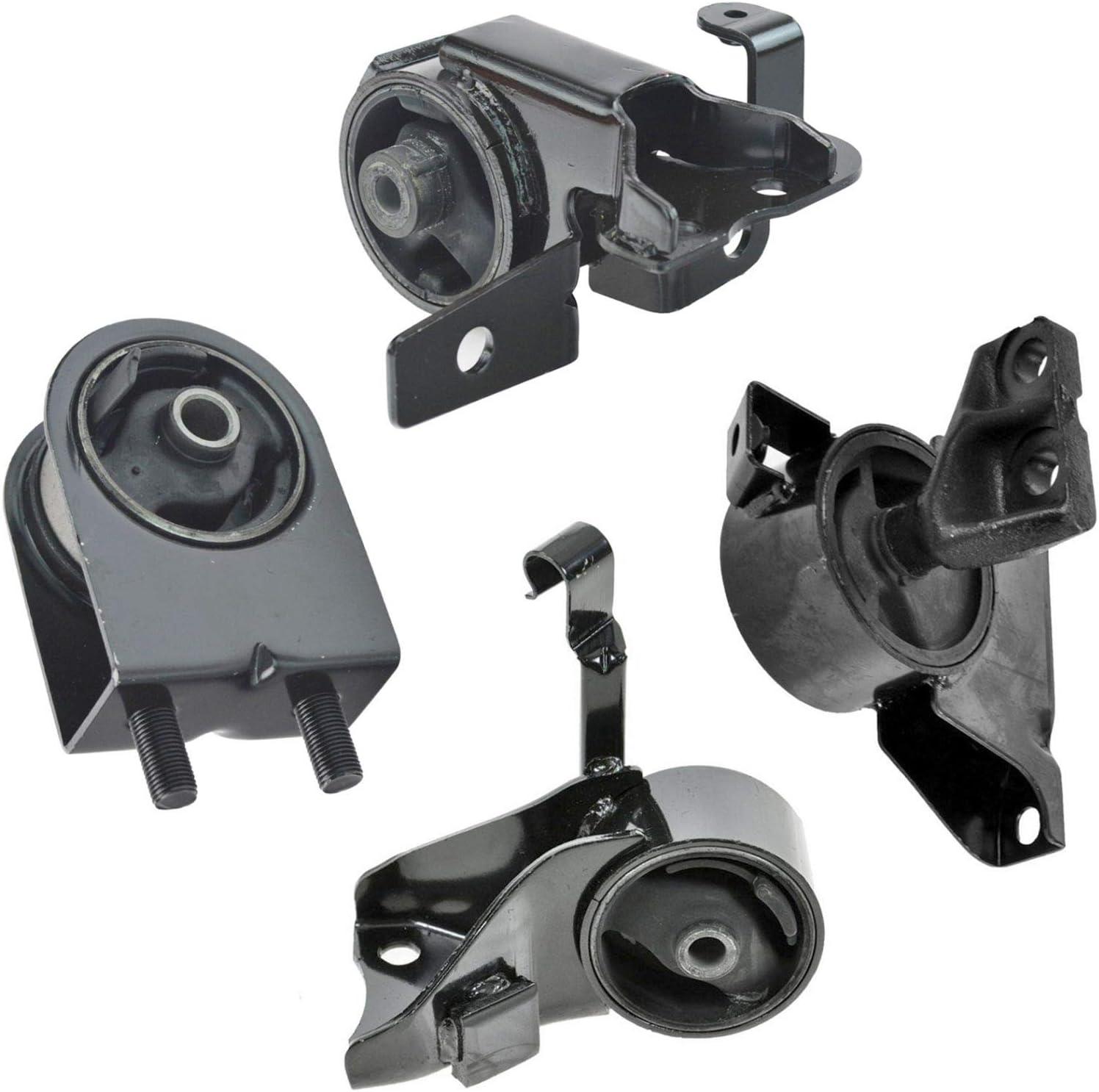 Engine Motor /& Trans Mount Manual Trans For 2001-2003 Mazda Protege 2.0L 4PCS
