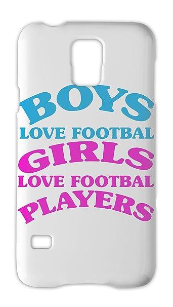 Boys Love de balón de fútbol chicas Love de fútbol jugadores lema ...