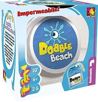 Asmodee Dobble Beach-Juego de Mesa Impermeable, edición en Italiano (8233 Italiana), Color, Formato de Viaje, DOBBEAC01IT: Amazon.es: Juguetes y juegos