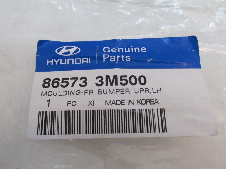 Rear Upper Left Genuine Hyundai 86573-3M500 Bumper Molding