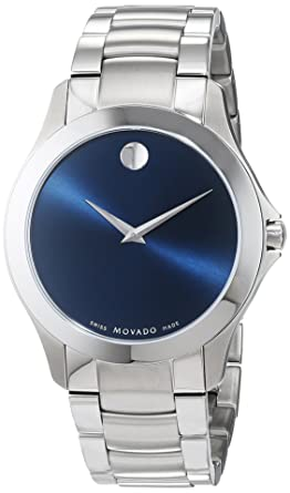 Movado Masino stainless Steel Mens Watch 0607033