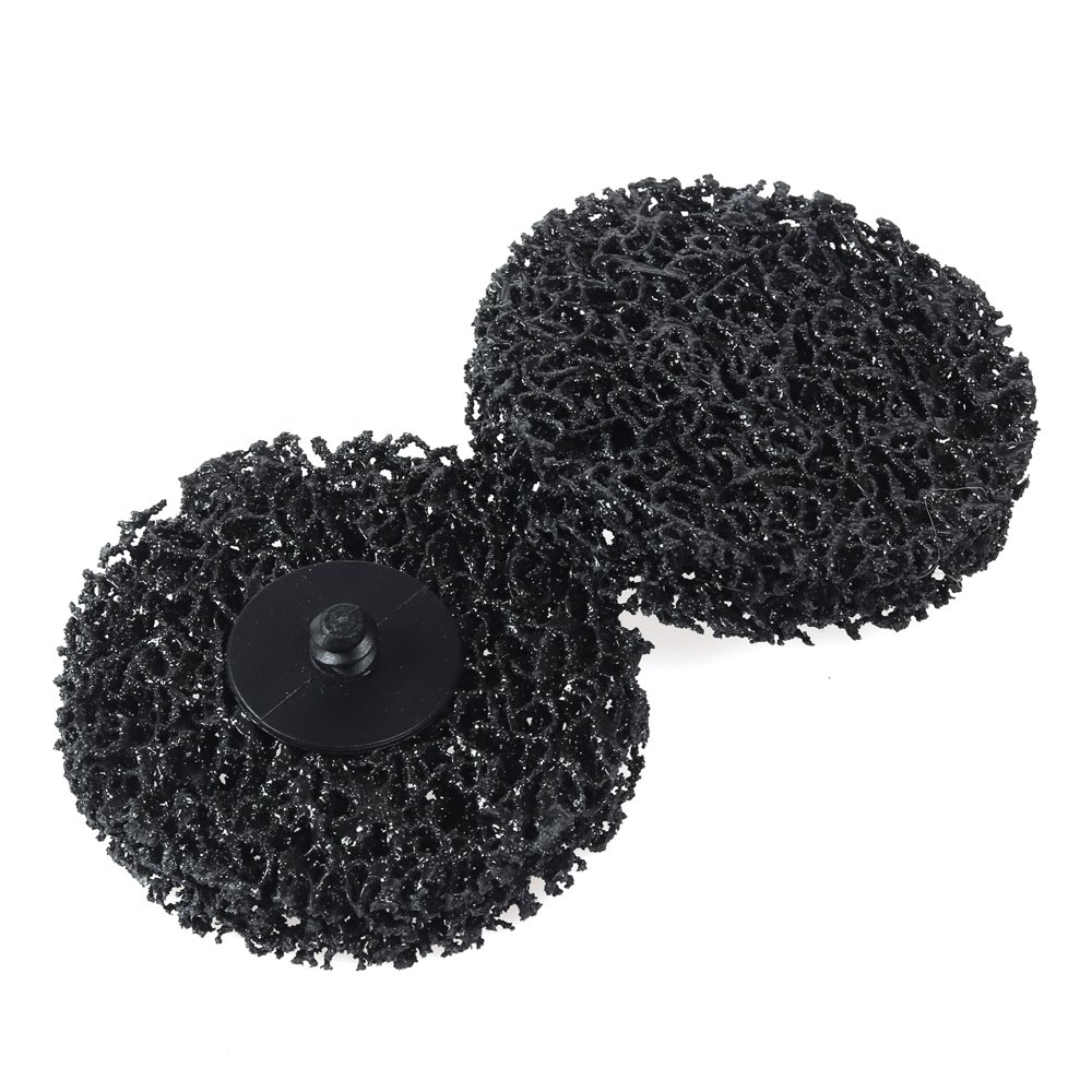 3 inch Roloc Strip Clean Discs Grinding Wheels Roll Lock 10-Pack