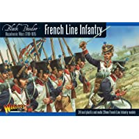 Black Powder Napoleonic French Line Infantería 1789-1815 1:56 Juego de modelos de plástico militar Wargaming