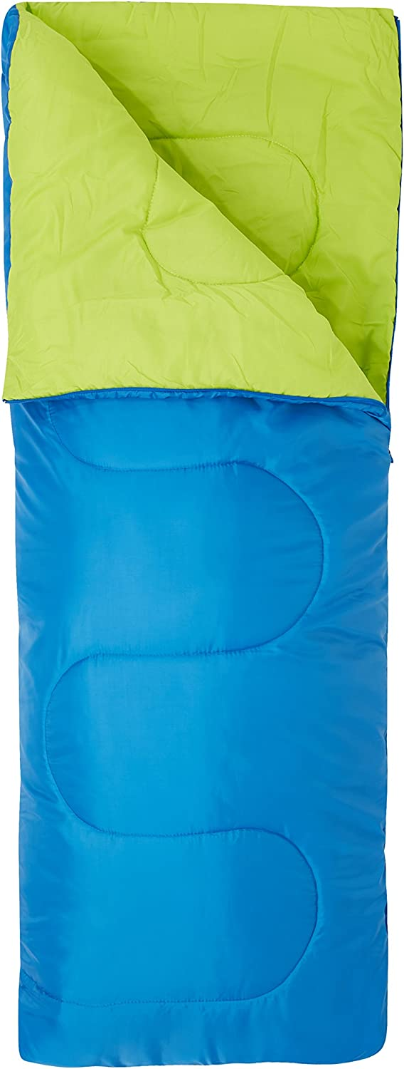 indoor use Hollow fibre insulation Carry Bag Dimensions Mountain Warehouse Comfort Temperature 700g Great For Sleepovers 160cm x 65cm warm nights An idea for this sleeping bag its 15/°C to 5/°C Easy to pack 2 Season weight summer