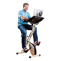 Deals on FitDesk Desk Exercise Bike with Massage Bar