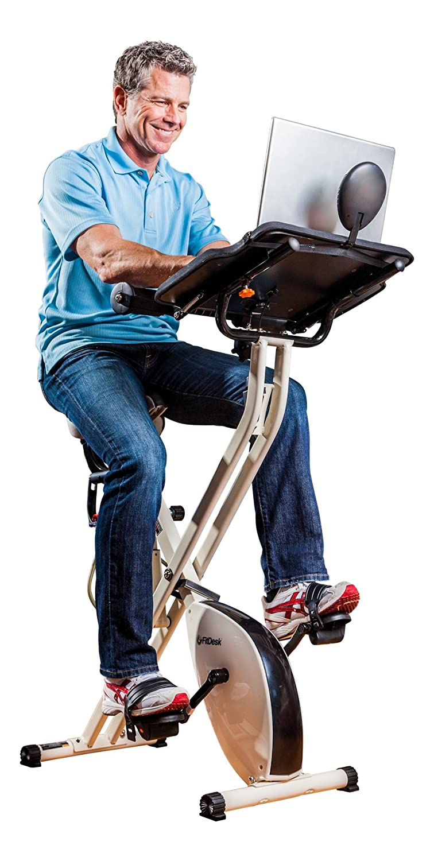FitDesk v2.0 带桌锻炼室内自行车