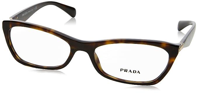 8024adb311 Prada Women s 15p Tortoise Frame Plastic Eyeglasses