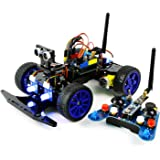 Adeept Smart Car Kit for Arduino, Remote Control Car based on NRF24L01 2.4G Wireless, Robot Starter Kit, Arduino Robotics Model, Arduino Learning Kit with PDF Guidebook/Tutorial