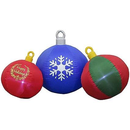 Amazon.com: Adorno de hinchable felices Fiestas de Navidad ...