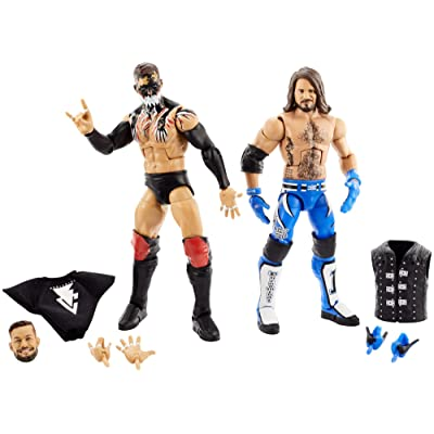 WWE Elite Collection Pack with Finn Bálor & AJ Styles Action Figures: Toys & Games