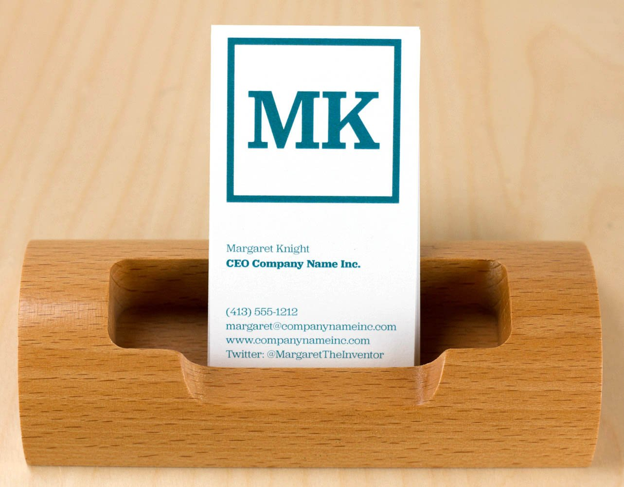 Buttonsmith Custom Ultra Thick Printed Business Cards - 3.5''x2'' - Quantity 500 - Double-Sided, 32 pt Smooth Touch - Made in The USA by Buttonsmith (Image #5)