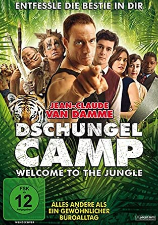 Dschungelcamp Welcome To The Jungle Dvd Fsk 12 Amazon Co
