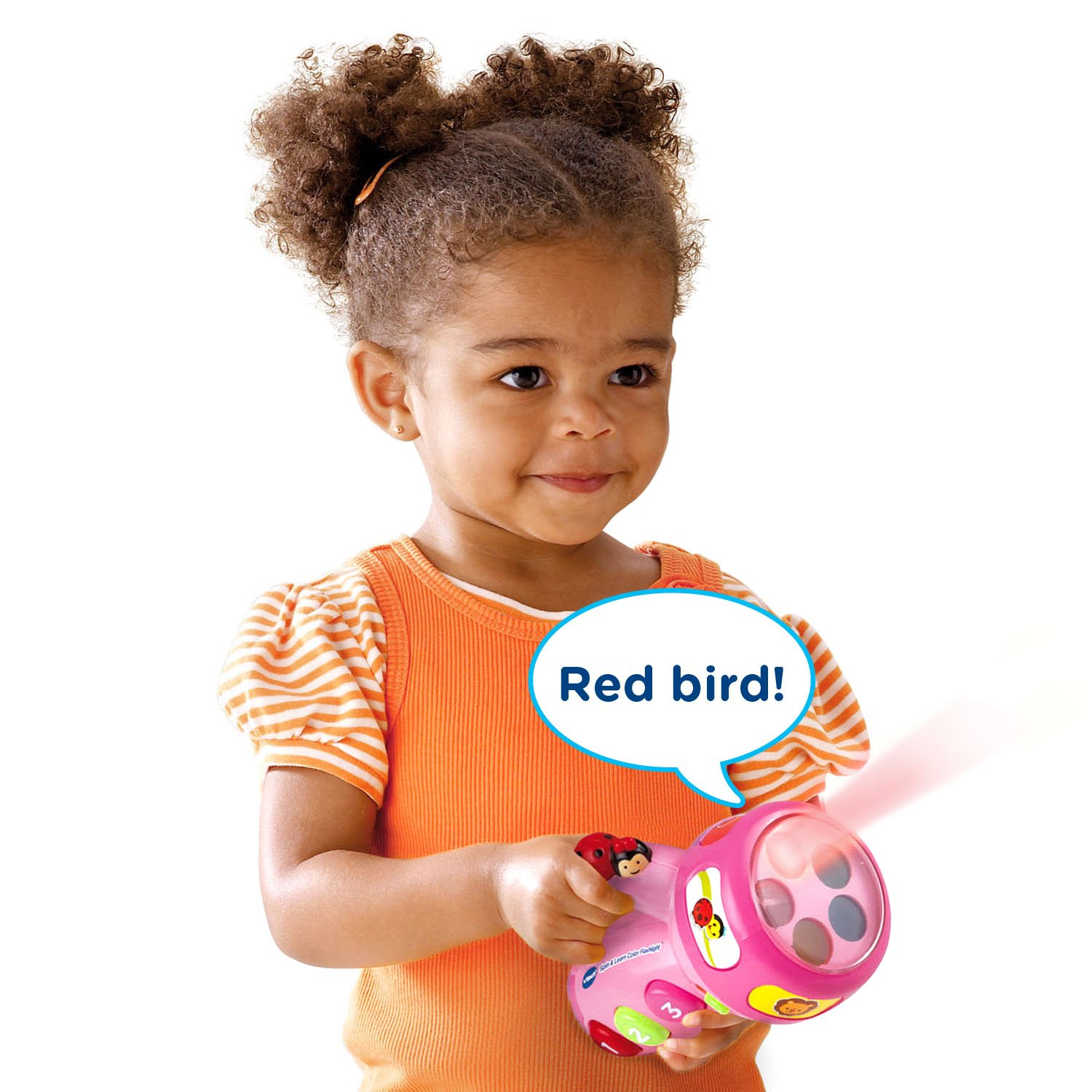 VTech Spin and Learn Color Flashlight Amazon Exclusive, Pink by VTech (Image #5)