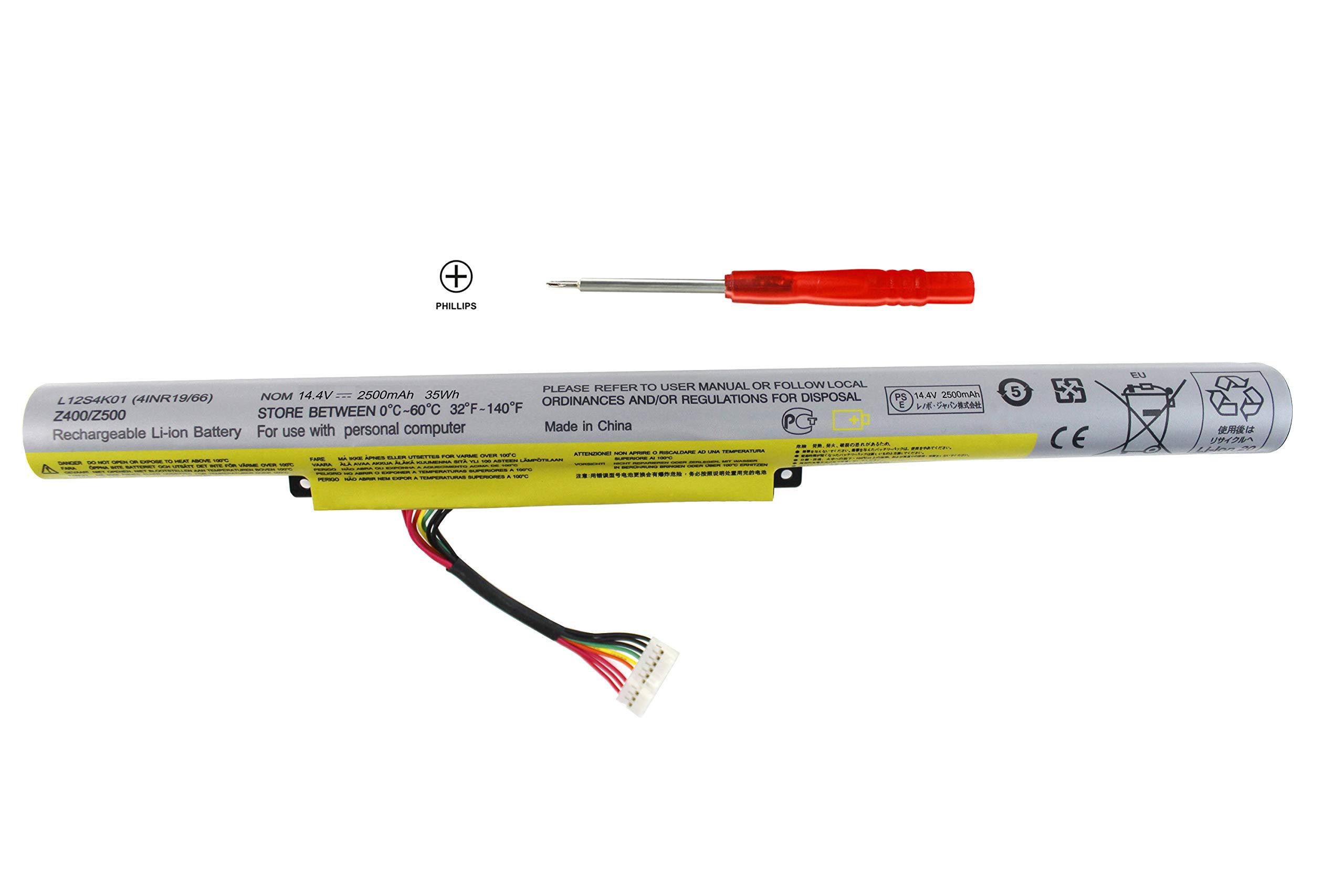 Bateria L12s4k01 4inr19/66 Para Lenovo Ideapad Z510 Z500 Z400 Z410 P500 P400 Z500a Z400a Touch P/n.l12s4e21 L12s4k01 L12