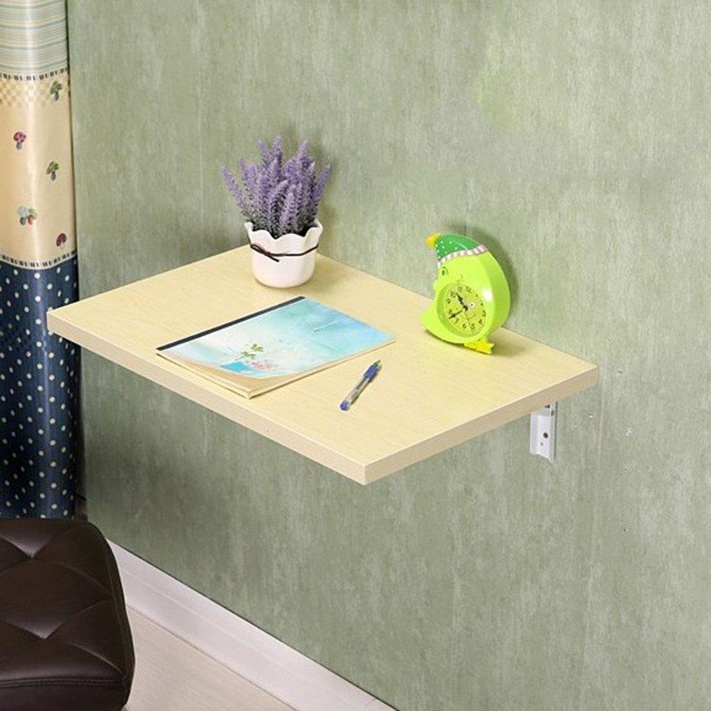 折り畳み式テーブル壁掛けテーブル壁掛けコンピュータデスク折りたたみ式ライティングデスク壁掛け式テーブル、100 * 40cm 折畳式の (サイズ さいず : 90*50cm) B07D8V12WZ 90*50cm 90*50cm