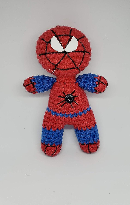 Spiderman doll Handmade plush