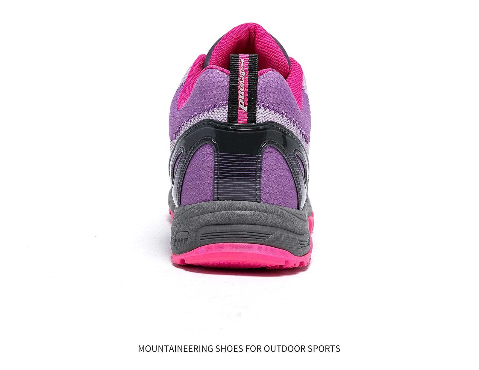 Mountbeyond Womens Waterproof Hiking Shoes Outdoor Breathable W001A - 2
