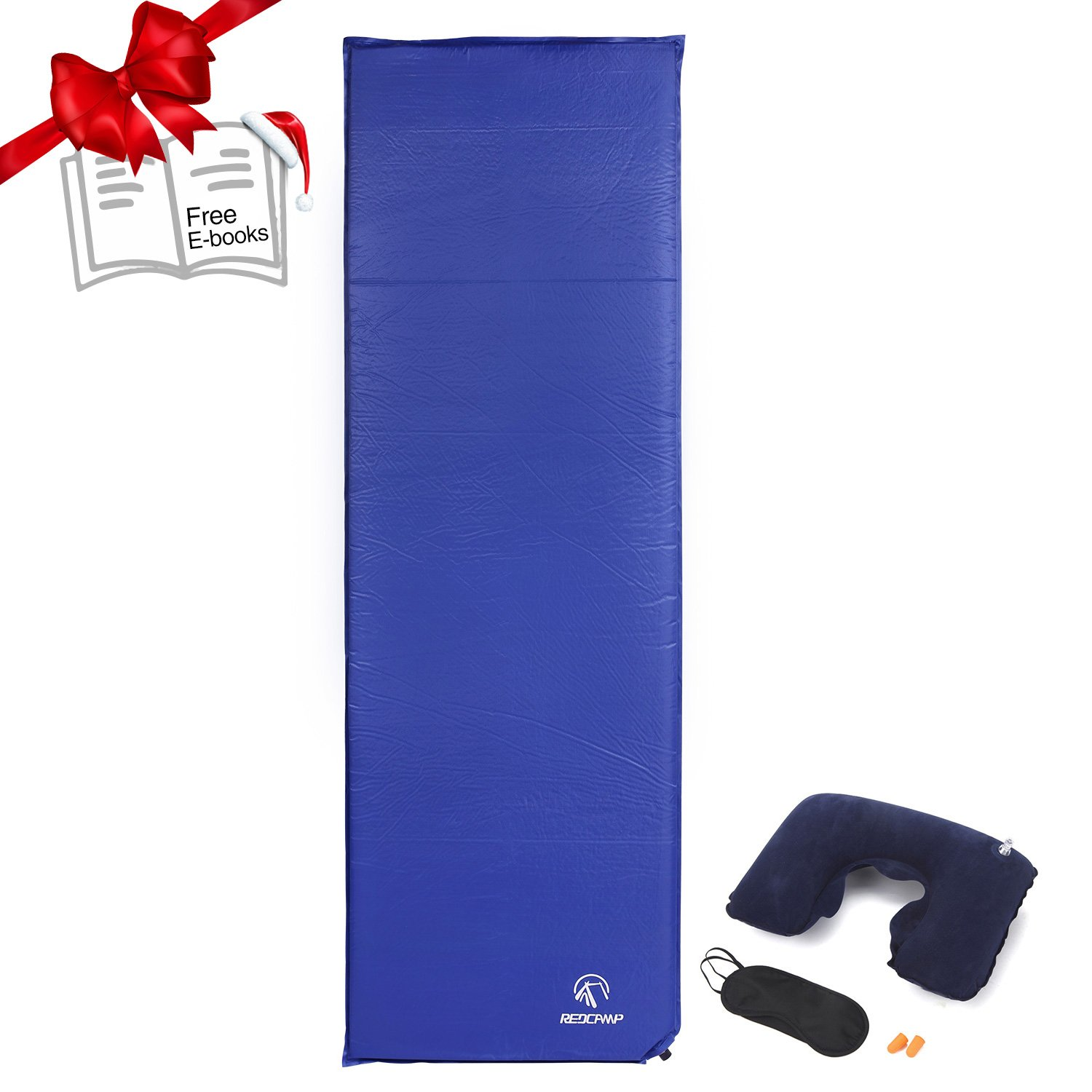 redcamp backpacking sleeping pad for camping xl lightweight folding self inflating air mattressair