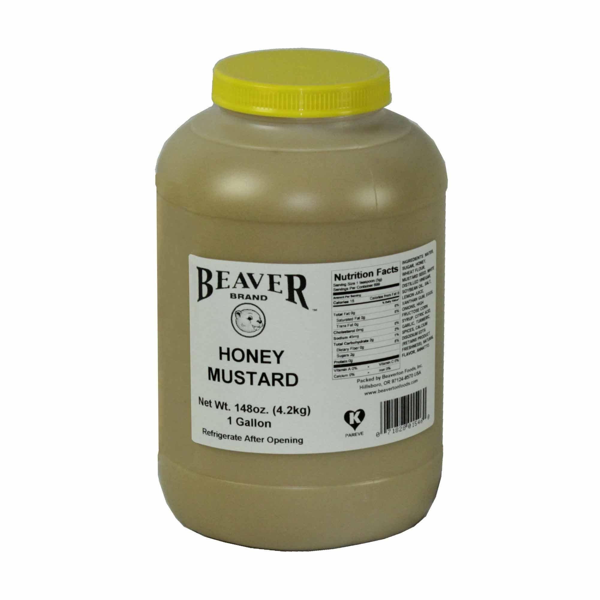 Beaver, Honey Mustard 9.25 lb (4 count) by Beaver