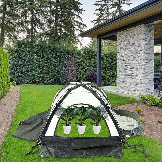 Fuitna - Mini Invernadero portátil de Fibra de Vidrio para jardín, jardín, jardín, jardín, jardín, jardín, jardín, jardín, jardín: Amazon.es: Hogar