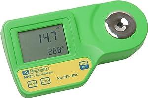 Milwaukee Instruments MA871 Digital Brix Refractometer, Range 0-85%