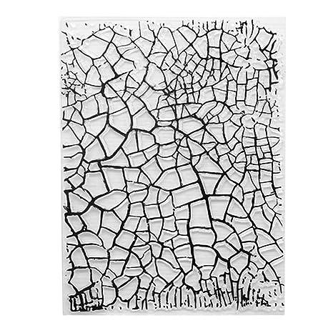 Exing Sellos Scrapbooking Clear Stamp, Sello Transparente De Sello De Silicona para álbum De Tarjetas De Manualidades De álbum De Recortes De ...