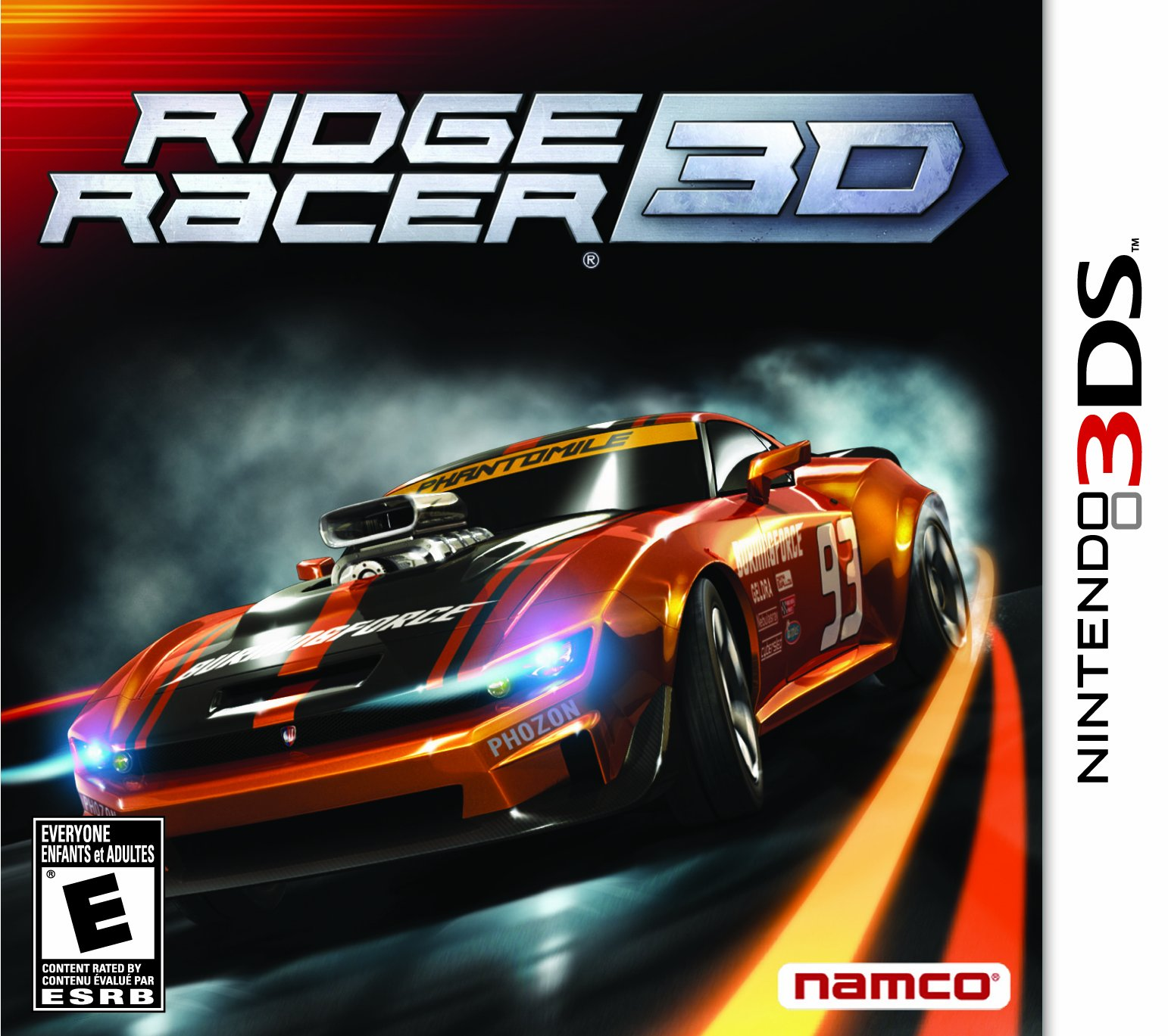 Ridge Racer 3D - Nintendo 3DS