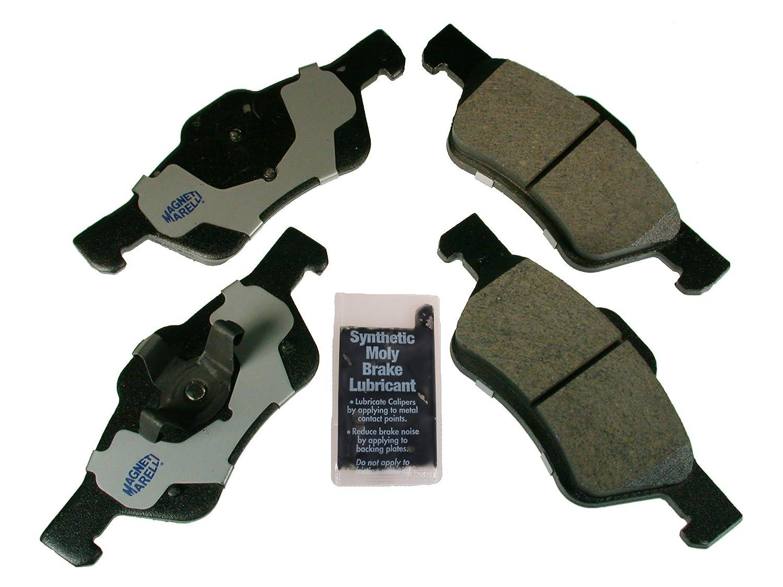 Magneti Marelli by Mopar 1AM101047A Semi-Metallic Front Disc Brake Pad Kit 4 Pack