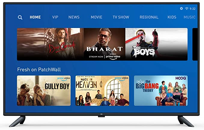 Image result for Mi TV 4X 65 (best Overall LED TV in India.)
