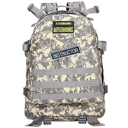 UKAMYNA PUBG Nivel 3 Mochila Tactical Mochila de Asalto Militar Mochila Impermeable Mochila Deporte Equipamiento al