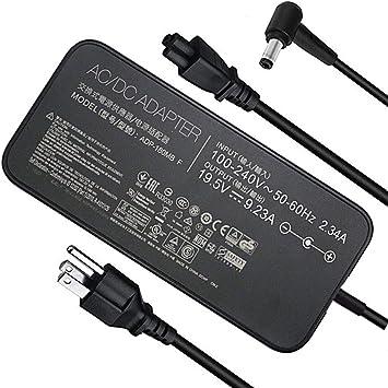 Amazon.com: Cargador de portátil para Asus ROG G750JM G751JM ...