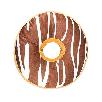 Amazon.com: VORCOOL - Cojín 3D con diseño de donut, suave y ...