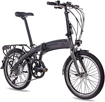 CHRISSON 20 Pulgadas Pedelec E-Bike Bicicleta Plegable S de ...